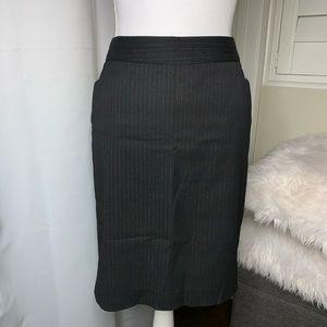 Express Design Studio Black pinstripe Pencil Skirt